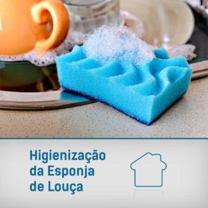 Higienização Esponja de Louça
