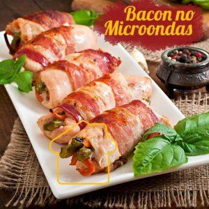 Bacon no Microondas