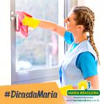 Limpeza de vidros, janelas e superfícies espelhadas