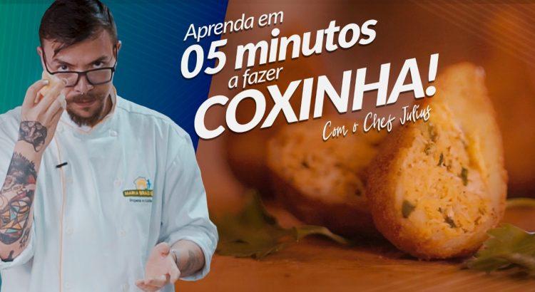 Coxinha de Frango com o Chef Julius