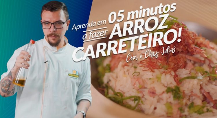 Arroz Carreteiro com o Chef Julius