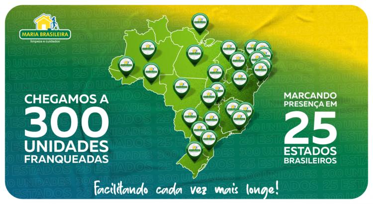 300 UNIDADES FRANQUEADAS