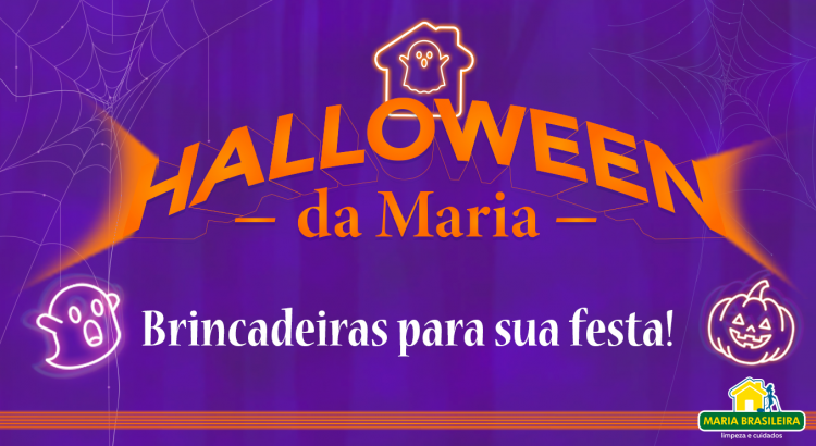 Halloween da Maria - Brincadeiras para sua festa!