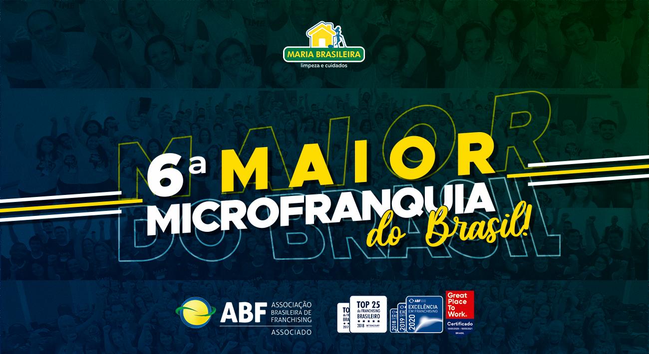 MAIOR FRANQUIA DE LIMPEZA DO BRASIL